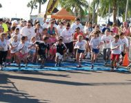 2015 starting line 1 mile fun run