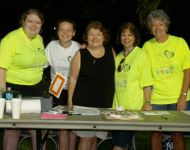 2015 volunteer table
